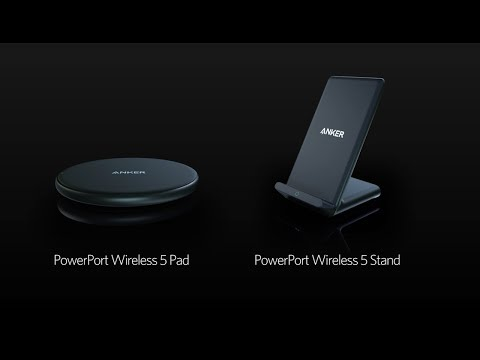 video Anker Wireless Charger