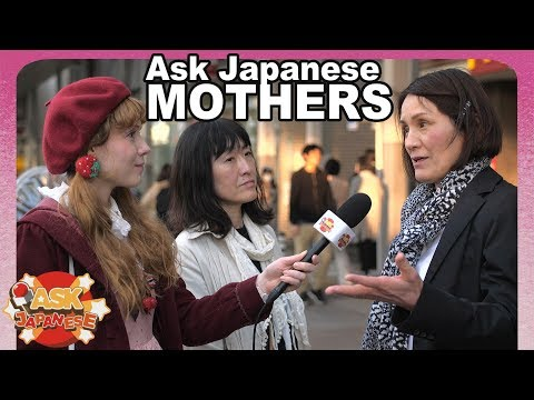 WHY Japan has LESS KIDS: Ask Japanese mothers about their opinion