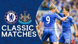 Chelsea 2-0 Newcastle | Torres Screamer & Hazard's First Goal | Premier League Classics Highlights