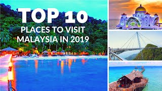10 best places to visit Malaysia in 2019   Top 10 places video with Full view