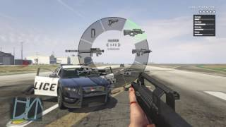 Grand Theft Auto V all guns in first person - YouTube