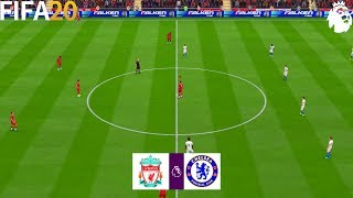 FIFA 20 | Liverpool vs Chelsea - English Premier League 19/20 - Full Match & Gameplay