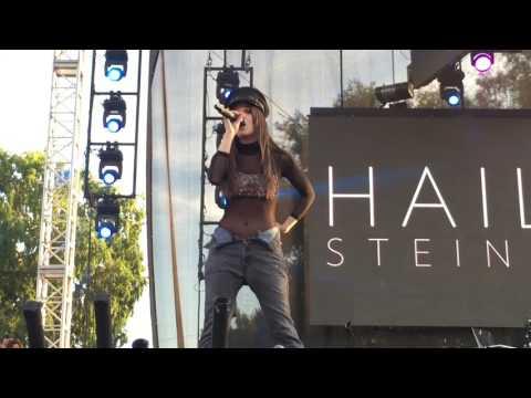 Hailee Steinfeld Covers Justin Bieber's