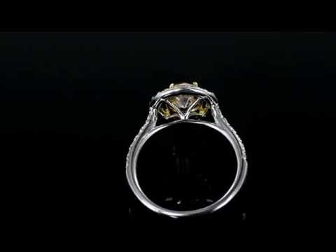 Browns Family Jewellers Yellow Sapphire Ring