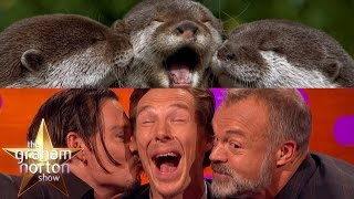 Benedict Cumberbatch, Johnny Depp and Graham Take Otter Photos - The Graham Norton Show