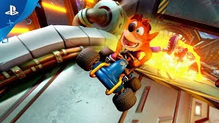 Crash team racing nitro-fueled :  bande-annonce