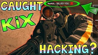 CAUGHT A HACKER! - Rainbow Six Siege Ranked Highlights (Operation Health)