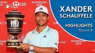 Xander Schauffele Final Round Winning Highlights | 2018 WGC - HSBC Champions