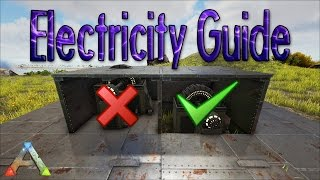 ARK   How To Protect Your Generator And Cables | Turret Placement Guide |  Building Tips