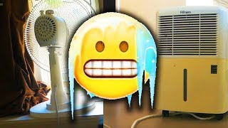 HOW TO COOL YOUR ROOM WITHOUT AC IN THE SUMMER ❄️❄️