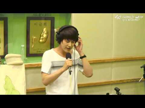 120815 Sukira - Kyuhyun's Live