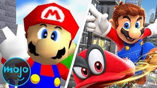 Top 10 Mario Games of All Time