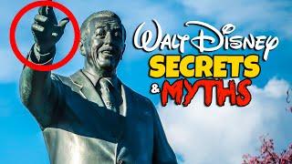 Top 7 Disneyland Myths & Hidden Secrets - Walt Disney