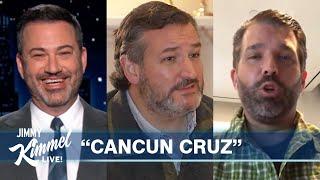 Donald Trump Jr Defends Ted Cruz Amid Vacation Fallout