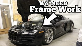 Here's Why My Cheap Audi R8 was TOTALED! Major Factory Flaw Made my R8 Salvage!