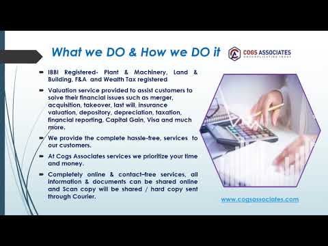 Valuation services in India