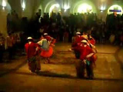 Danza tradicional, quito, ecuador