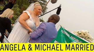 Angela & Michael Got Married!