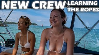 I'm In Love With This Sailor Girl! Sailing SV Delos Ep  46 - Sailing