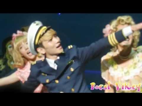 [FANCAM ]120501 SHINee Key & SNSD Sunny on the Musical