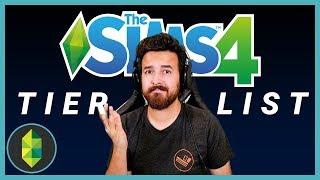 The Sims 4 DLC Tier List
