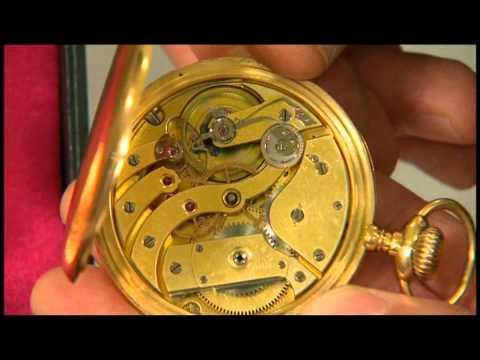 Patek Philippe pocket watch at the BBC Antiques Roadshow