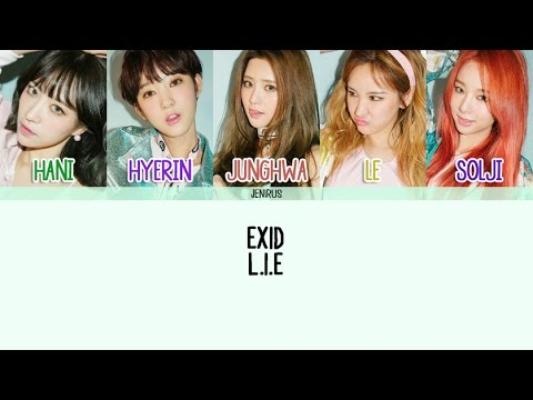 EXID - L.I.E [Han/Rom/Eng] Color + Picture Coded HD