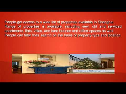 Need Apartment to Accommodate in Shanghai - Search Online to Make it Easy