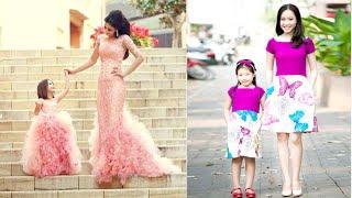 Xu hướng thời trang Váy cặp mẹ và bé gái xinh xắn đáng yêu cho năm 2016