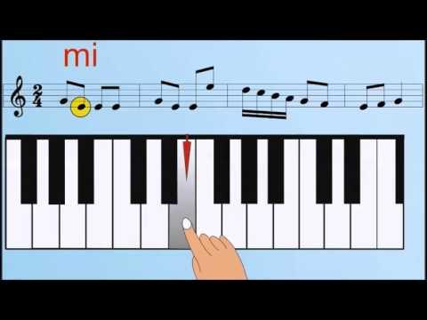CURSO DE PIANO PRIMERA LECCION PARA PRINCIPIANTES MUSICA CLASICA
