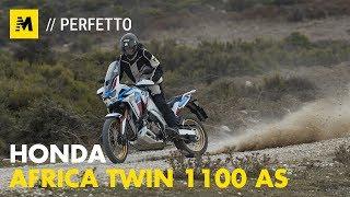 Honda Africa Twin 1100 Adventure Sports 2020: TEST [English sub.]