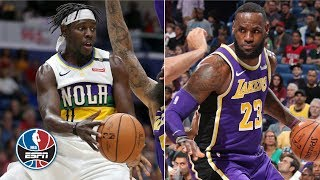 LeBron James' 27 points not enough as Pelicans beat Lakers | NBA Highlights