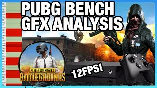 PUBG Benchmark & Graphics Analysis on Xbox One X