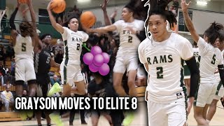 Caleb Murphy PULLS OUT THE JELLY in Sweet 16 Matchup vs Pebblebrook + #2 Grayson PUTS ON A SHOW