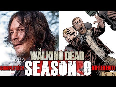 The Walking Dead TV Series Characters Totally Divergent from the Comics Now!