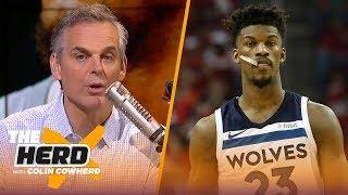 Colin Cowherd on Butler going 'crazy town', Lakers beating Warriors in preseason | NBA | THE HERD