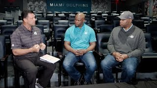 Sitting down with Coach Flores and Chris Grier ahead of the 2019 Combine