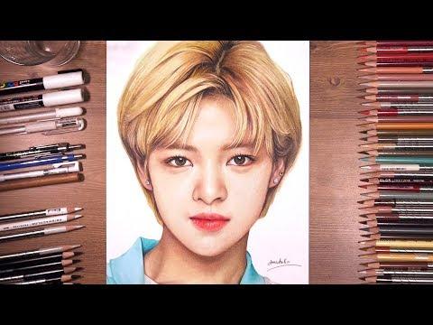 TWICE : Jeong yeon 정연 - speed drawing | drawholic