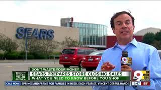 Sears prepare store closing sales