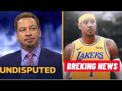 [BREAKING] Chris Broussard reacts to Carmelo Anthony has agreed to a one-year deal with the Lakers.