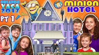 MINIONS HOTEL TOUR! Coolest Room Ever!! Savage Dad @ Universal Studios Resort FUNnel Summer FL