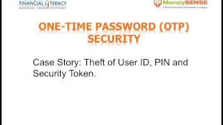 Making Sense Internet Banking Security