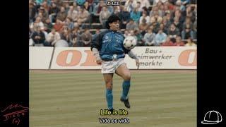 Opus - Life Is Life   Maradona Calentamiento 1989 // Letra/Lyrics