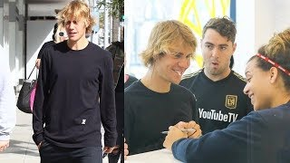 Justin Bieber Flirts With SoulCycle Employee Before Spin Class