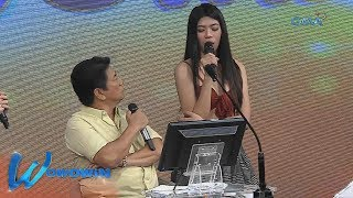 "Wowowin: ""Huwag mo akong tatanggalin, Kuya Wil!"" – 'Sexy Hipon' Herlene"