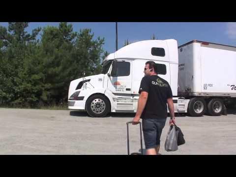 Caminhão nos EUA - Part13 - Trocando de carreta
