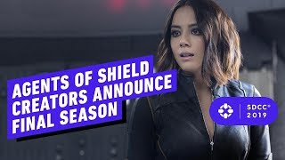 Agents of SHIELD Creators Announce Final Season - Comic Con 2019