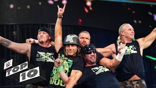 D-Generation X's greatest moments: WWE Top 10, Oct. 1, 2018