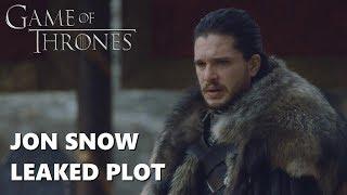 Game of Thrones Season 8 Jon Snow New Location Leaked Photos (Spoilers)
