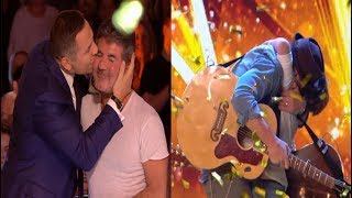 GOLDEN BUZZER From Simon | Dream Dad & Son Duo Dazzle The Judges